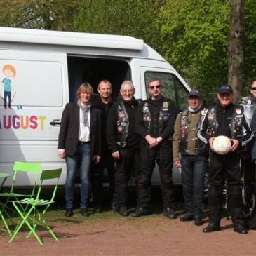 Spendenziel vom Biker Camp Sankt Augustin