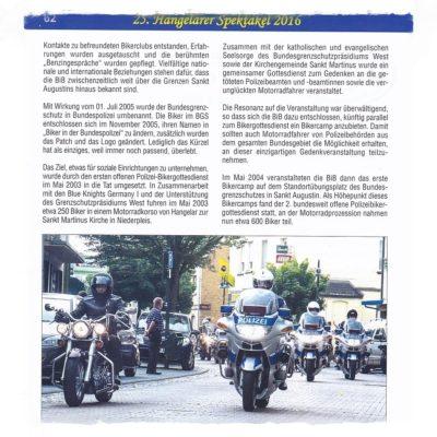 Bericht Festschrift
