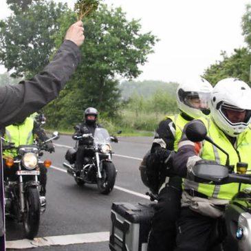 Motorradprozession