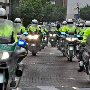 600 Biker rollen durch Hangelar