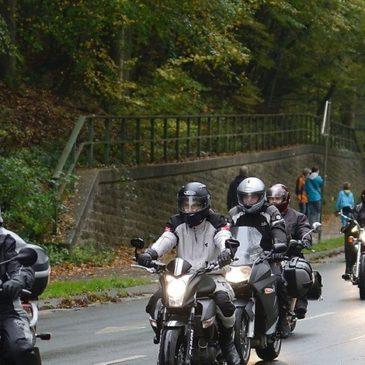 36. Motorradfahrer-Gedenkfahrt: 1000 Biker pilgern zum Altenberger Dom