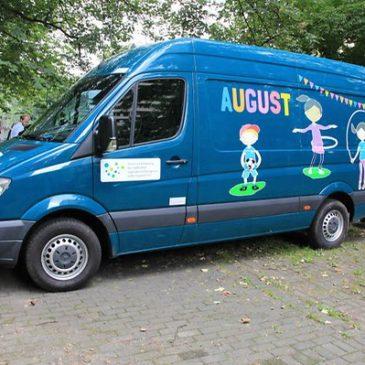 Ersatz für den gestohlenen Spielewagen: Ein neuer August für die Augustiner Pänz